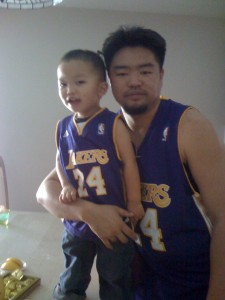Lucas and Father