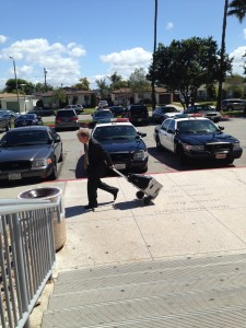 Wilkinson leaving Torrance Courthouse